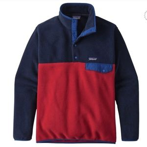 Patagonia Synchilla Snap T-Fleece Classic Red